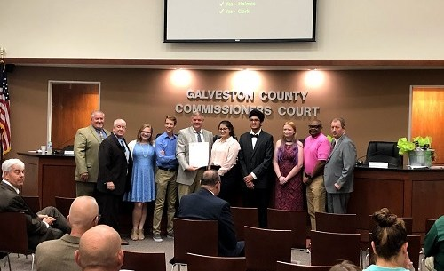 2019 4-H National Week-Commissioners Court