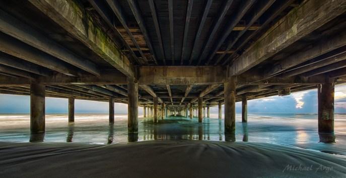 Pleasure Pier Underside
