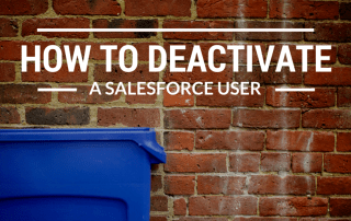How to Deactivate a Salesforce User