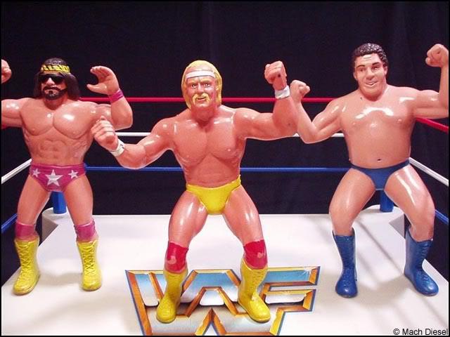 WWF Action Heros