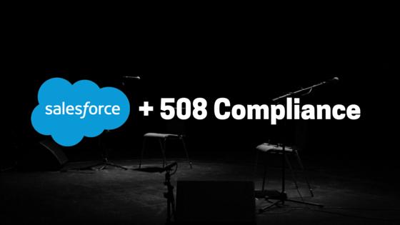 + 508 Compliance