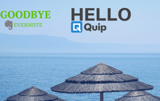 Goodbye Evernote, Hello Quip