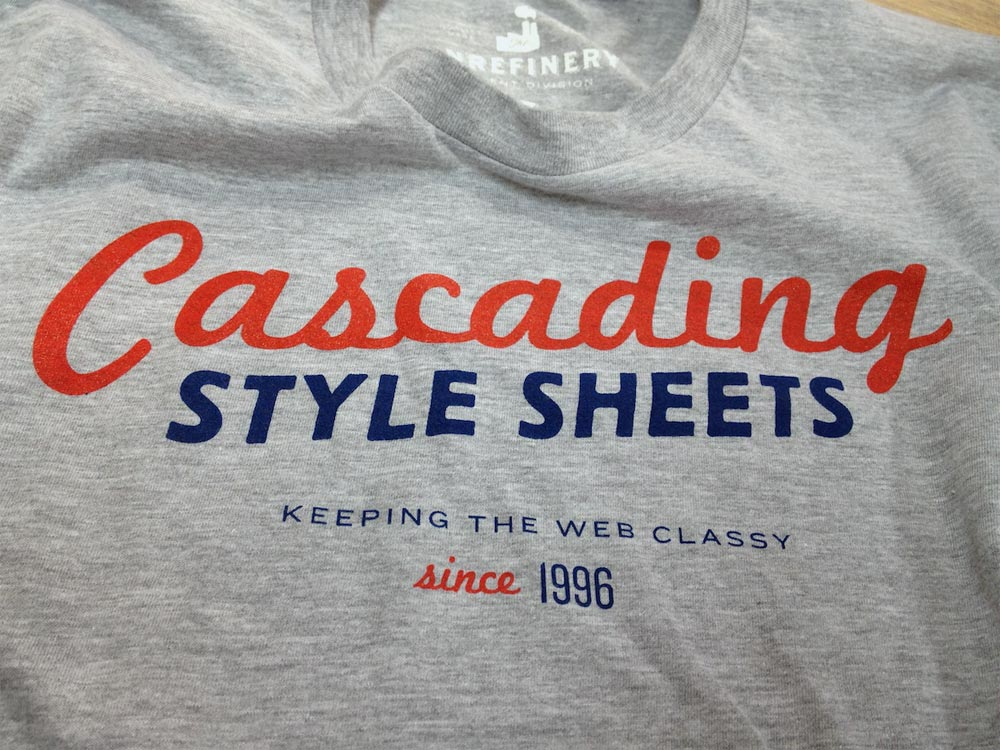 Camiseta CSS, Tshirt CSS Cascade style sheet