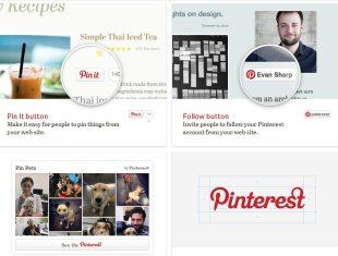 Páginas de empresa en Pinterest