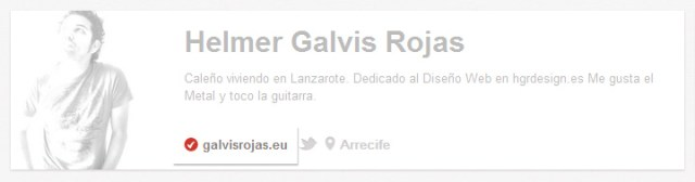 Perfil verificado pinterest