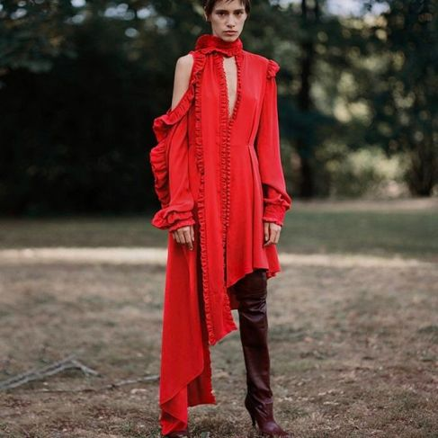Magda Butrym SS'17 via Vogue.com