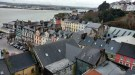 Another view of the harbor and some of the houses in Cobh