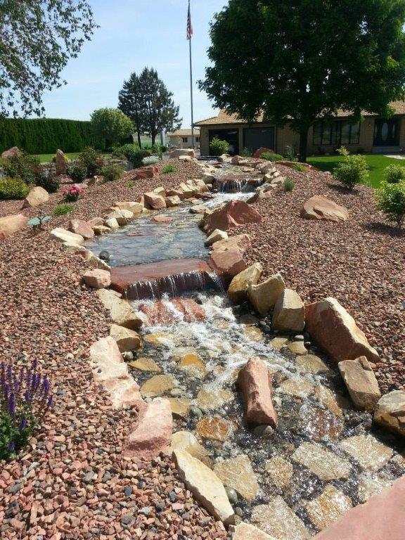 ponds & water features richland
