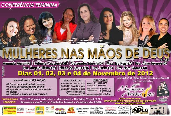 Conferência feminina 2012