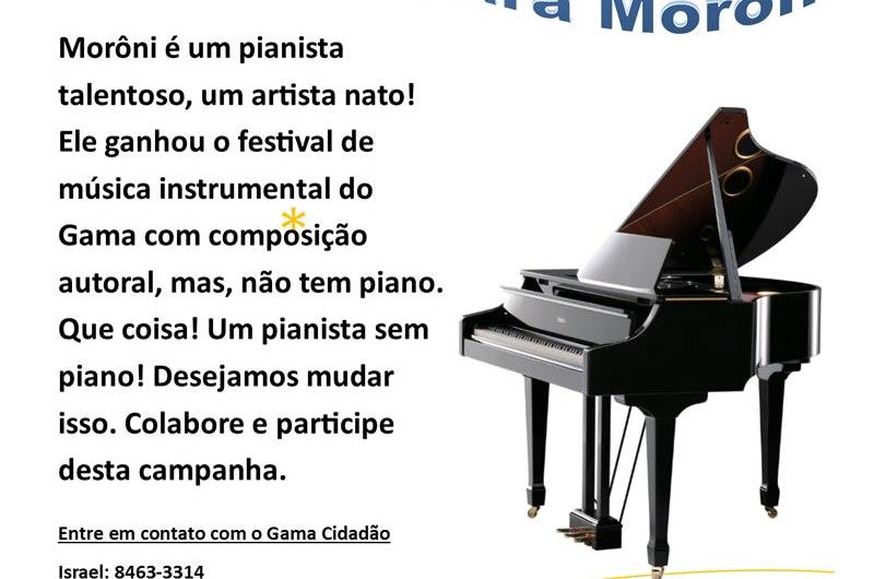 Um piano para Morôni