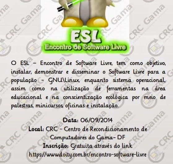 ESL – Econtro Software Livre