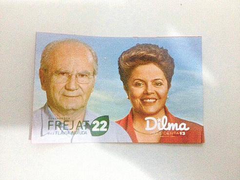 Eleições: Dilma com o 22