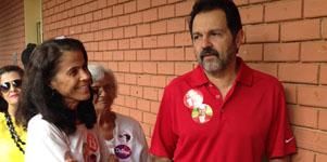 Agnelo apoia a reeleição de Dilma e confirma ter anulado voto para governador