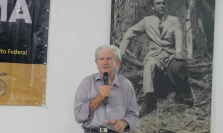 IHG-DF promove palestra com ambientalista e escritor Eugênio Giovenardi