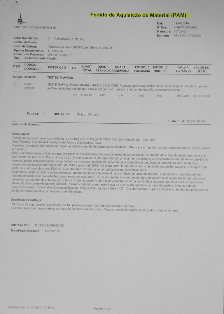 NOTA À IMPRENSA - CPI DA SAÚDE - Gama Cidadão | O seu