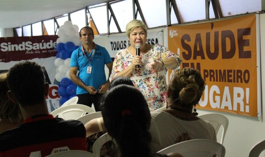 Servidores do Gama se mobilizam contra fechamentos dos Centros de Saúde