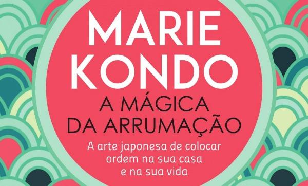 """Minicurso a técnica da Marie Kondo: """"A Mágica da Arrumação"""""""