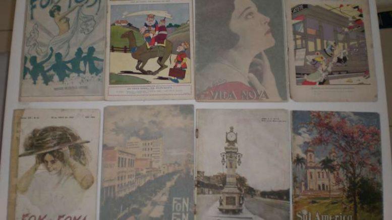 Exposição de Revistas Raras