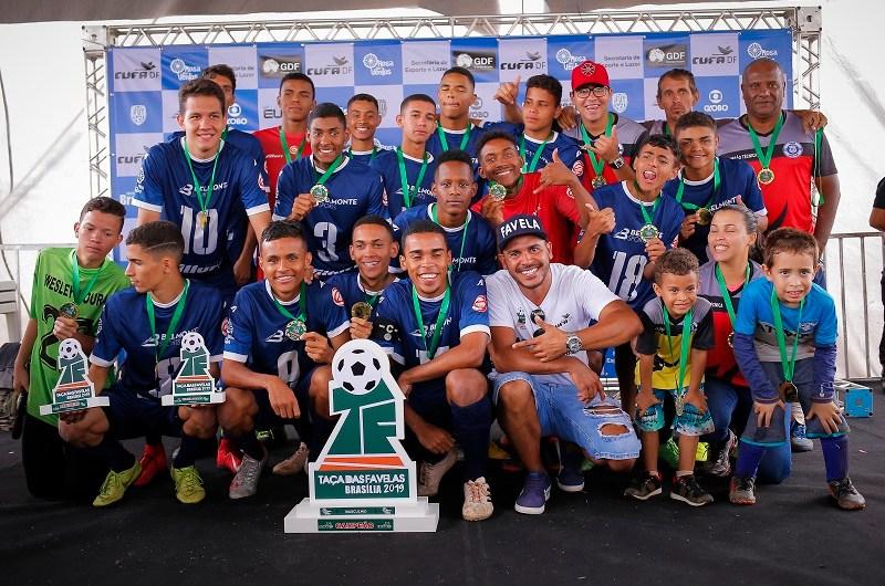 Taça das Favelas: time feminino de Ceilândia Sul e masculino do Varjão vencem o campeonato
