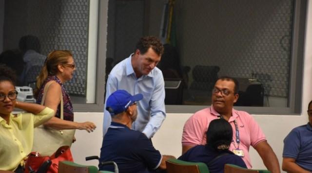 Dep Iolando se reune com associações e entidades do segmento da Pessoa com Deficiência para discutir o funcionamento da Secretaria
