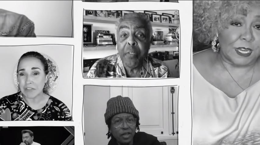 """Artistas se unem em campanha de solidariedade """"quem tem fome, tem pressa"""""""