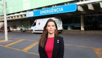 Deputada Júlia Lucy destina verbas para Hospital Regional do Gama - HRG