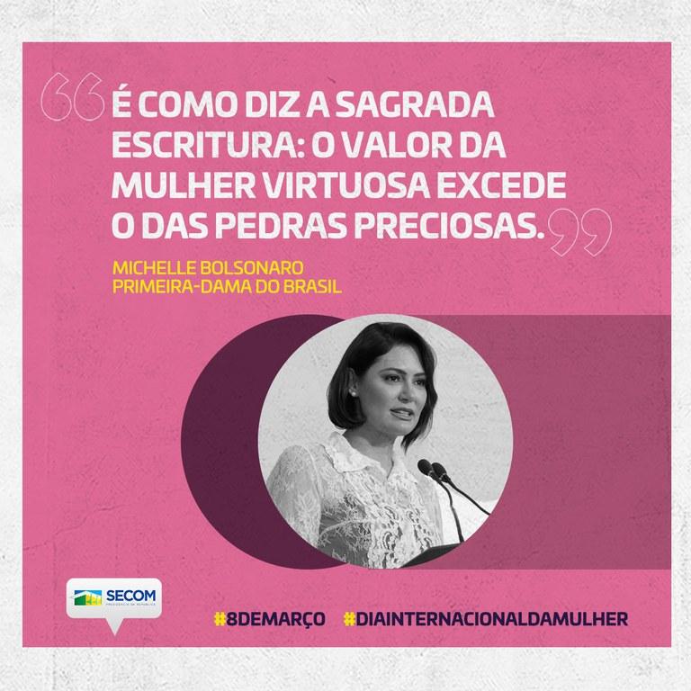 Primeira-dama, Michelle Bolsonaro