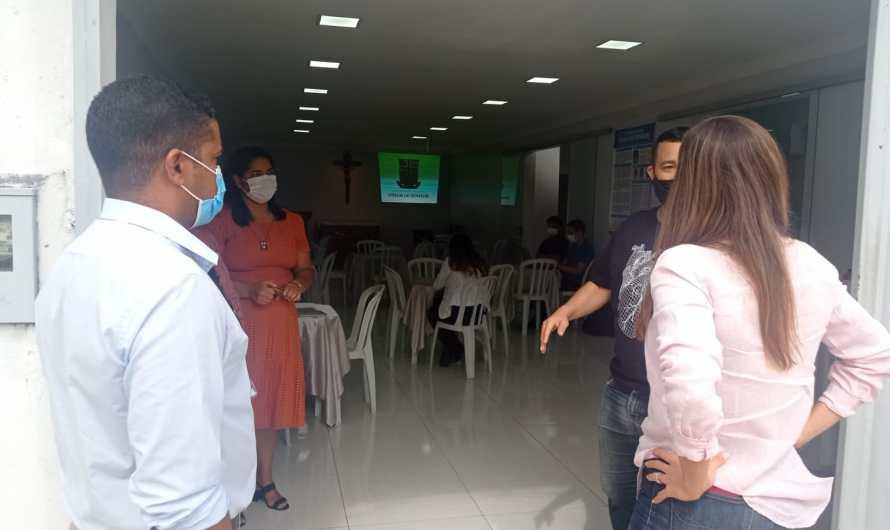 Secretária da SEJUS visita comunidade Mariana Vinha do Senhor no Gama