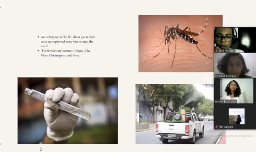 No Gama: Alunas do CEMI ganham prêmio internacional com projeto de combate à dengue