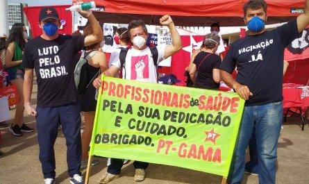 Em todos os estados e no DF, manifestantes vão às ruas protestar contra o governo Bolsonaro #forabolsonaro