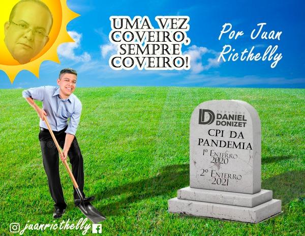 O compromisso do Deputado Donizet com o sepultamento da CPI da PANDEMIA