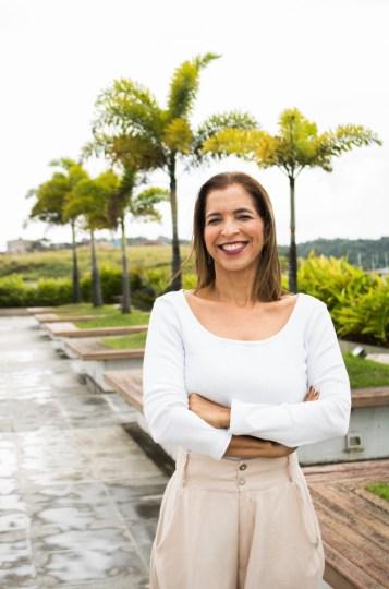 Pedagoga, Doutora e Mestre em Educação e Contemporaneidade Ana Sueli Pinho, convidada do Sala dos Professores de hoje (27) - Crédito - divulgação