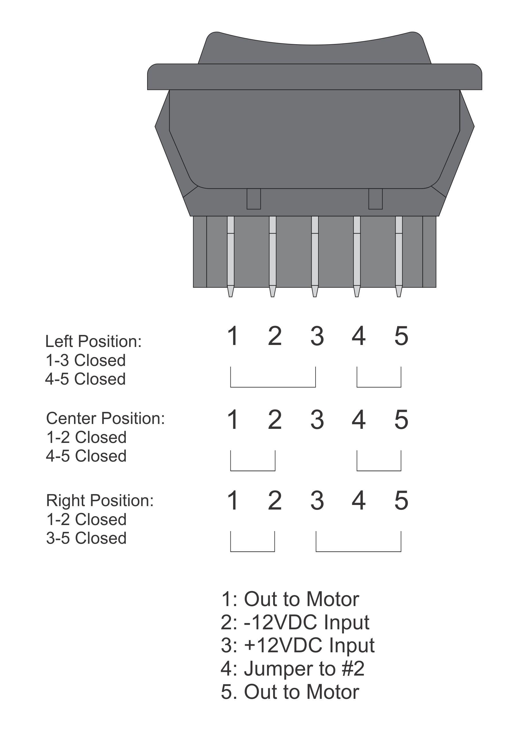 5 Pin Power Window Switch Wiring Diagram : power, window, switch, wiring, diagram, R952B, Electronics