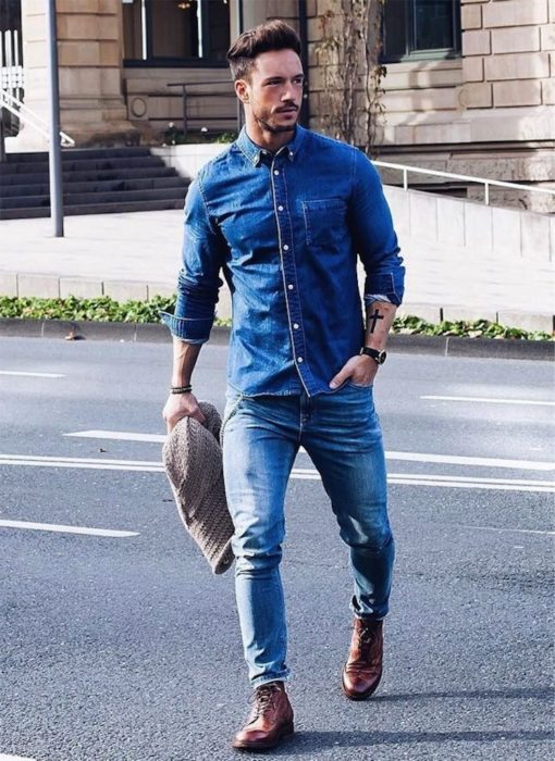 ملابس شبابية رجالي كاجول وكلاسيك أجمل وأجدد الملابس الرجالي