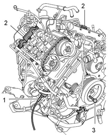 Porsche Cayenne 4.5L, 4.8L, Audi Q7 Camshaft Timing Tool