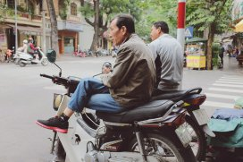Mototaxi macht Pause