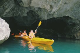Aus der Höhle raus