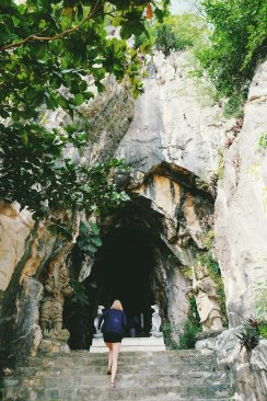 Eingang zum Marble Mountain