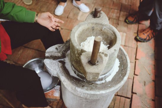 Maschine zur Herstellung von Reismilch