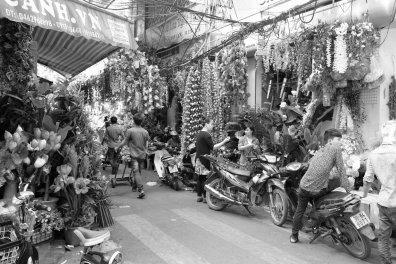 Die Blumenhändlerstraße