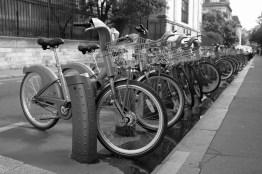 Leihfahrräder in Paris