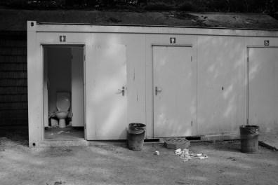Toiletten in Jardin des Plantes