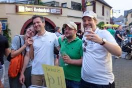 Straßenfest in Kröv