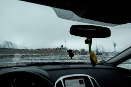 Flucht ins Auto