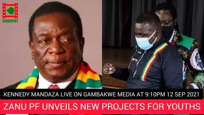 WATCH LIVE : ZANU-PF reveals new projects for youths – Guest : Kennedy Mandaza