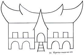 Gambar Rumah Joglo Yang Mudah Digambar Rumah Joglo Limasan Work