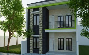 Desain Rumah Minimalis Tropis Model 6 (1)