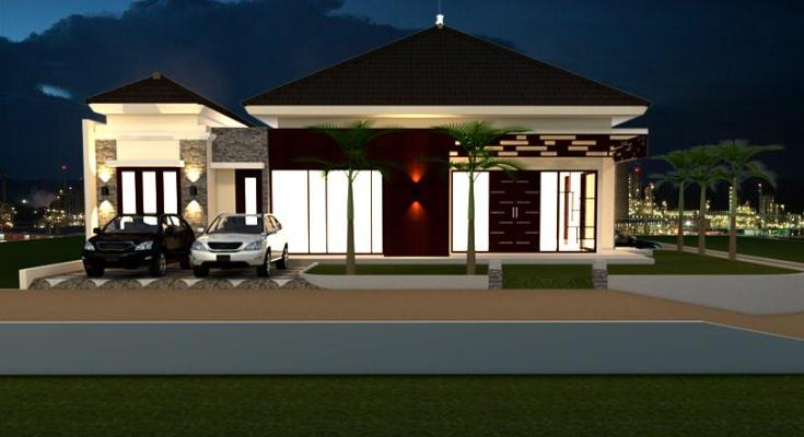 Desain Rumah Model Tropis 3 (2)