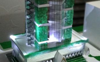 Maket Arsitektur Miniatur Model 18 a
