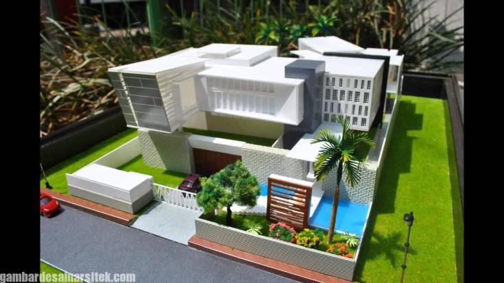 Maket Arsitektur Miniatur Model 2
